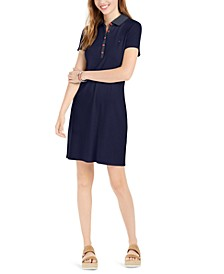 Polo Shift Dress