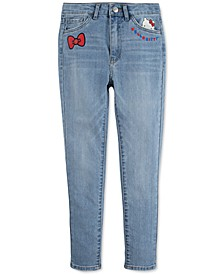 x Hello Kitty Toddler Girls Super Skinny Jeans