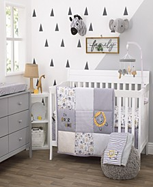 Roarsome Lion 3-Piece Crib Bedding Set