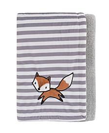 Lil Fox Baby Blanket