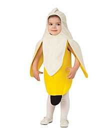 Toddler Girls and Boys Banana Costume