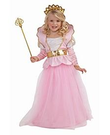 Big Girl's Sparkle Princess Costume