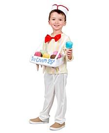 Baby Boys Ice Cream Cone Salesman Costume