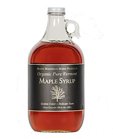 Pure Organic Vermont Maple Syrup, 64 oz