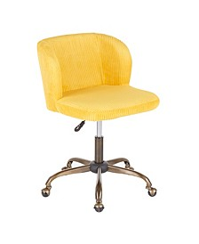 Fran Ribbed Office Chair