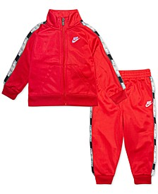 Toddler Boys 2-Pc. Logo-Tape-Trim Jacket & Jogger Pants Set