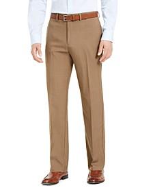 Men's Classic-Fit Solid Performance Dress Pants