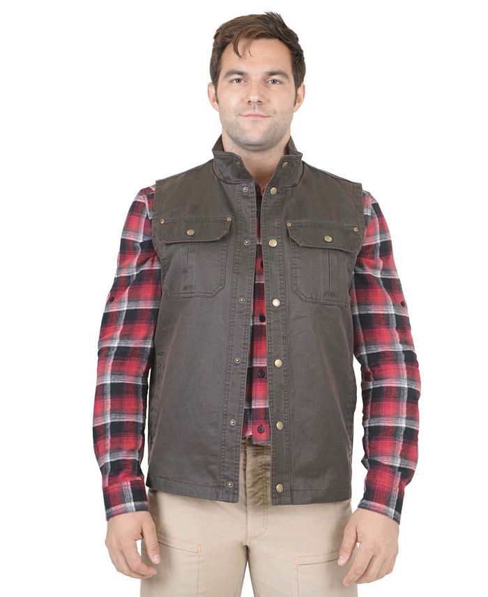 Mountain And Isles - Mountain and Isles Waxed Cotton Vest