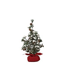 Small Tree in Gift Bag w/Berries