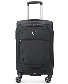 """Delsey Helium DLX 22"""" Softside Carry-On Spinner, Created for Macy's"""