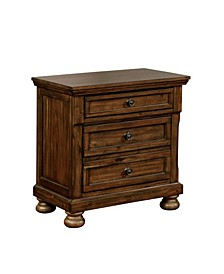 Amera 3 Drawer Nightstand