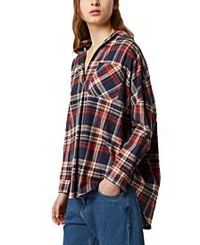 Rhodes Cotton Flannel Plaid Shirt