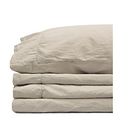 Jennifer Adams Relaxed Cotton Sateen King Sheet Set