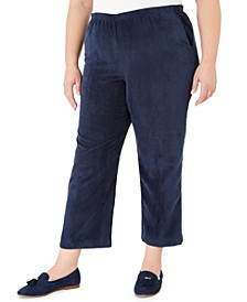 Plus Size Classics Corduroy Pull-On Pants