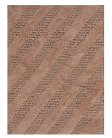 "Diagonal Honeycomb 21"" x 34"" Bath Rug"
