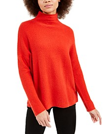 Flossy Mock-Neck Sweater