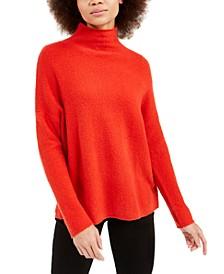 Flossy Mock-Neck Sweater
