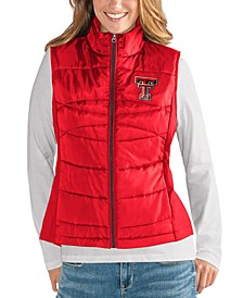 Women's Texas Tech Red Raiders Puffer Vest