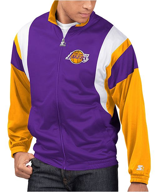 Starter Men's Los Angeles Lakers The Contender Track Jacket