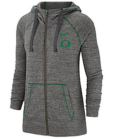 Women's Oregon Ducks Gym Vintage Full-Zip Jacket