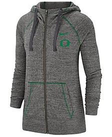 Women's Oregon Ducks Gym Vintage Full-Zip Jacket