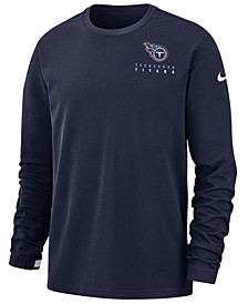 Men's Tennessee Titans Dry Top Crew Sweatshirt