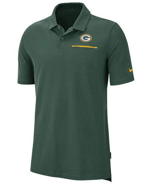 Nike Men's Green Bay Packers Dry Elite Polo