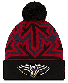 New Orleans Pelicans Big Flake Pom Knit Hat