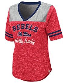 Women's Ole Miss Rebels Mr Big V-neck T-Shirt