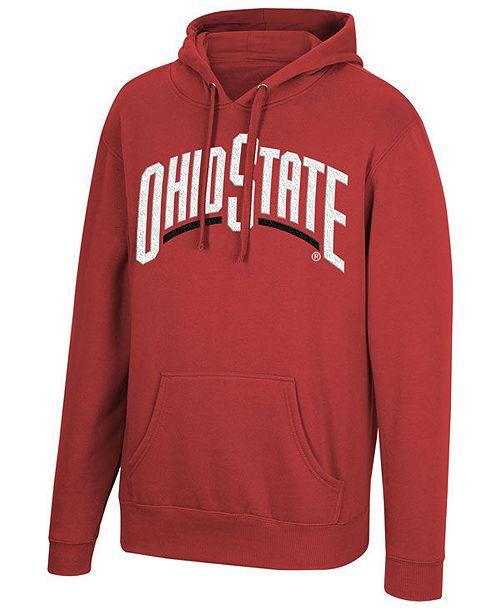 Top of the World Men's Ohio State Buckeyes Wordmark Hooded Sweatshirt