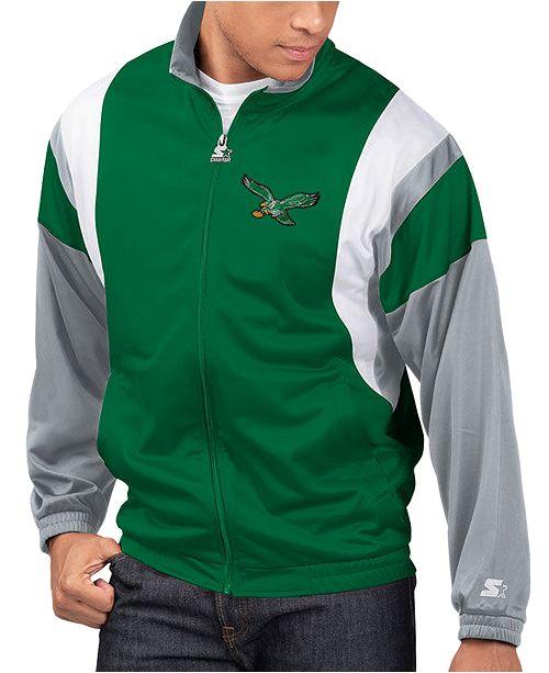 Starter Men's Philadelphia Eagles The Contender Track Jacket