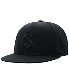 Ohio State Buckeyes All Black Core Fitted Cap