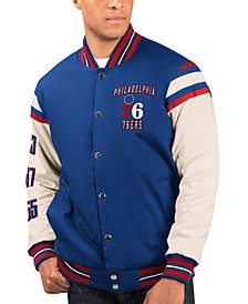 Men's Philadelphia 76ers Victory Formation Commemorative Varsity Jacket