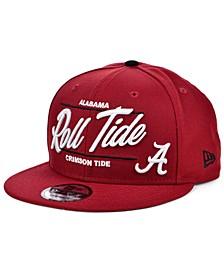 Alabama Crimson Tide Slogan 9FIFTY Snapback Cap