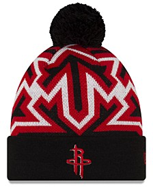 Houston Rockets Big Flake Pom Knit Hat