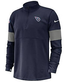 Men's Tennessee Titans Sideline Therma-Fit Half-Zip Top
