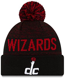 Washington Wizards Blackout Speckle Knit Hat