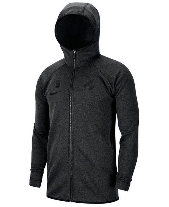 Nike Men's Minnesota Timberwolves Showtime Dry Full-Zip Hoodie