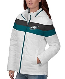 Women's Philadelphia Eagles Tie Breaker Polyfill Jacket