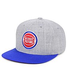 Detroit Pistons 2 Tone Classic Snapback Cap