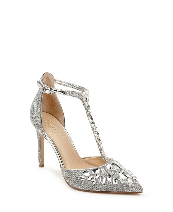 Jewel Badgley Mischka Umay Sandals