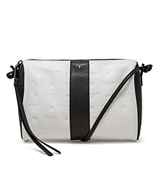 Logo Leather Crossbody