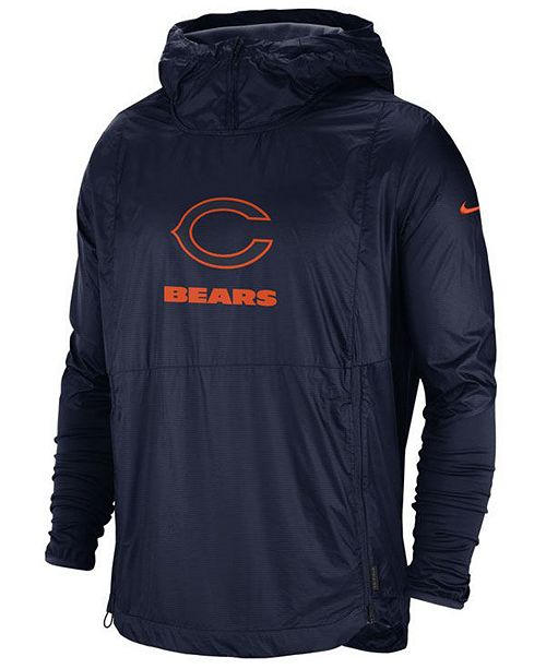 Nike Men's Chicago Bears Repel Lightweight Player Jacket