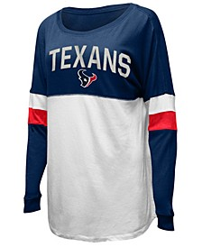 Women's Houston Texans Boyfriend T-Shirt