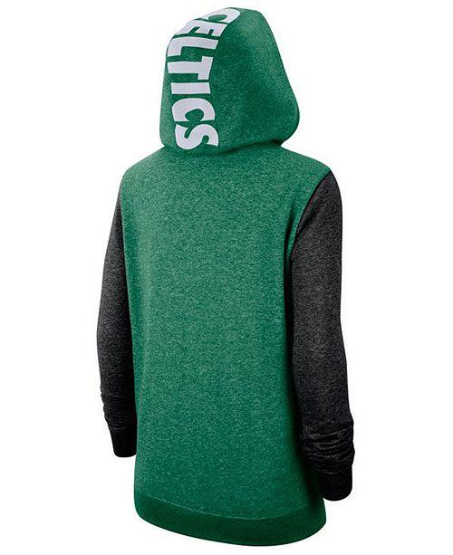 Women's Boston Celtics Full Zip Club Fleece Jacket