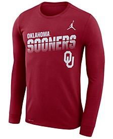 Men's Oklahoma Sooners Legend Sideline Long Sleeve T-Shirt
