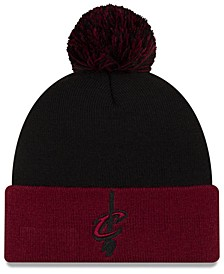 Cleveland Cavaliers Black Pop Knit Hat