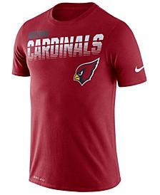 Men's Arizona Cardinals Sideline Legend Line of Scrimmage T-Shirt