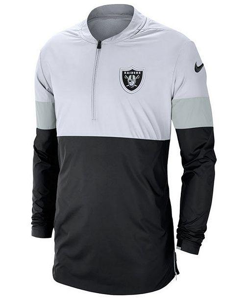 Nike Men's Oakland Raiders Lightweight Coaches Jacket