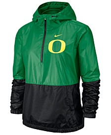 Women's Oregon Ducks Half-Zip Jacket
